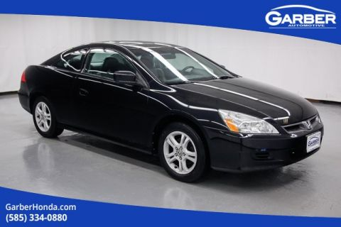 Pre-Owned 2007 Honda Accord EX-L FWD 2D Coupe