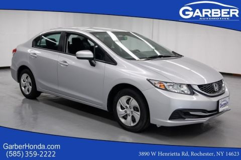 Pre-Owned 2014 Honda Civic LX FWD 4D Sedan