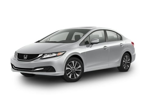 Pre-Owned 2014 Honda Civic EX FWD 4D Sedan
