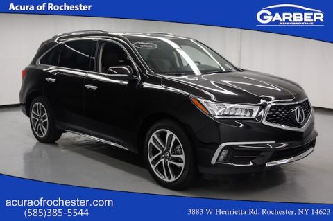 Certified Pre-Owned 2017 Acura MDX w/Advance Pkg AWD