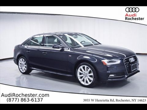 Certified Pre-Owned 2014 Audi A4 2.0T Premium (Tiptronic)