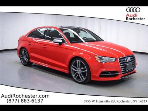 Certified Pre-Owned 2015 Audi S3 2.0T Premium Plus (S tronic)