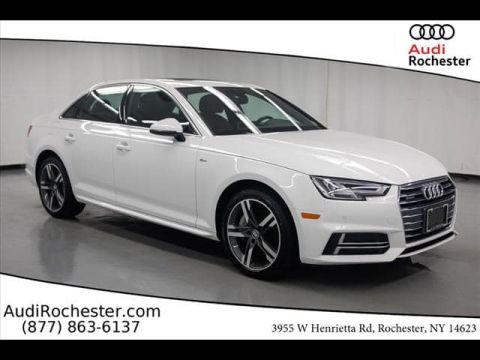 Certified Pre-Owned 2017 Audi A4 2.0T Premium