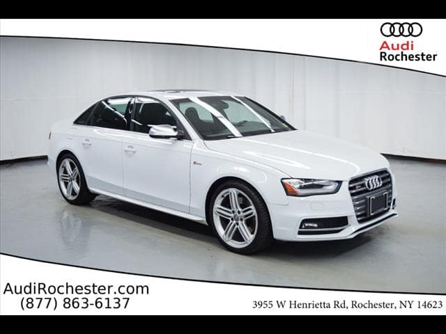 Certified Pre-Owned 2015 Audi S4 3.0T Sedan in Rochester #12067696P