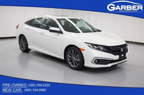 New 2019 Honda Civic EX FWD 4D Sedan