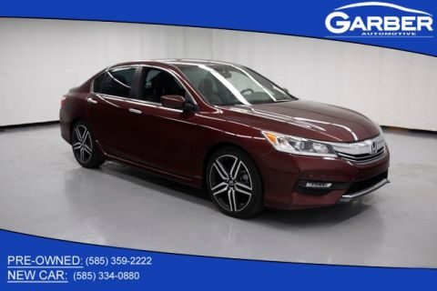 Pre-Owned 2017 Honda Accord Sport Special Edition 2.4T FWD 4D Sedan