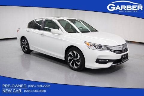 Certified Pre-Owned 2017 Honda Accord EX-L 2.4T