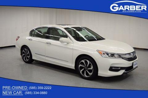 Pre-Owned 2017 Honda Accord EX-L 3.5T