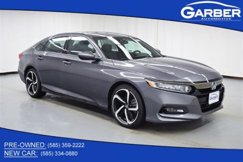 New 2019 Honda Accord Sport 2.0T FWD 4D Sedan
