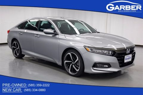 New 2018 Honda Accord Sport 2.0T FWD 4D Sedan