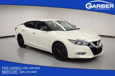 Pre-Owned 2017 Nissan Maxima SR With Navigation