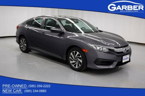 Pre-Owned 2016 Honda Civic EX FWD 4D Sedan