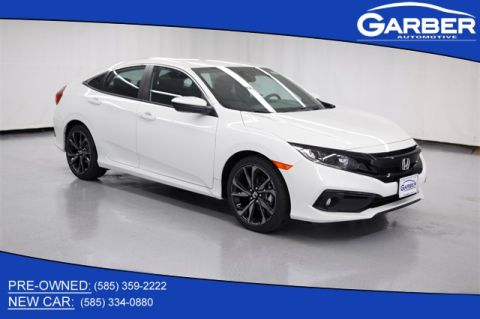 New 2020 Honda Civic Sport FWD 4D Sedan
