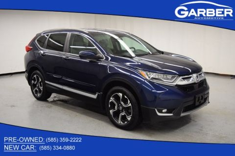 Certified Pre-Owned 2017 Honda CR-V Touring With Navigation & AWD
