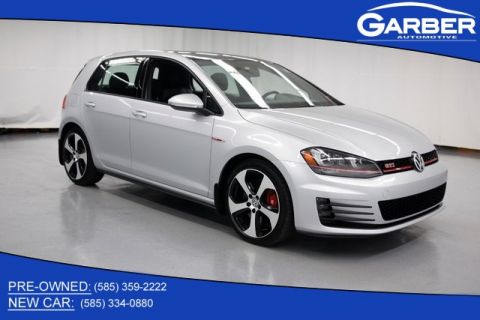 Pre-Owned 2016 Volkswagen Golf GTI SE With Navigation