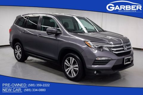 Garber honda in rochester ny new used honda car dealer for Certified pre owned honda pilot 2016