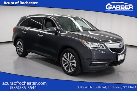 Certified Pre-Owned 2016 Acura MDX 3.5L w/Technology Pkg AWD