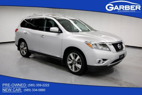 Pre-Owned 2014 Nissan Pathfinder Platinum With Navigation & 4WD