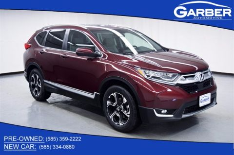 New 2018 Honda CR-V Touring With Navigation & AWD