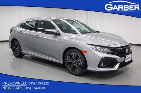 New 2018 Honda Civic EX FWD 4D Hatchback