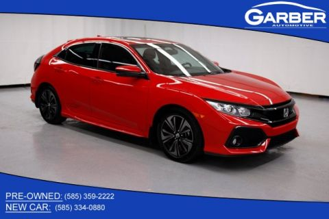 Pre-Owned 2017 Honda Civic EX-L With Navigation