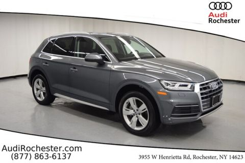 Certified Pre-Owned 2018 Audi Q5 2.0T Premium Plus w/Navigation With Navigation & AWD