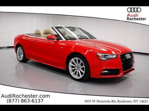 Certified Pre-Owned 2016 Audi A5 2.0T Quattro Premium Plus