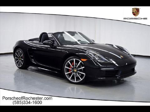 Pre-Owned 2017 Porsche 718 Boxster S RWD S 2dr Convertible