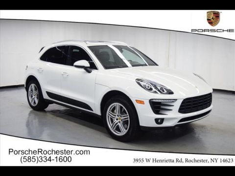 Certified Pre-Owned 2017 Porsche Macan S AWD