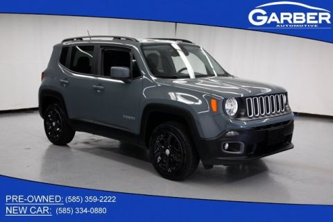 Pre-Owned 2017 Jeep Renegade Latitude 4WD
